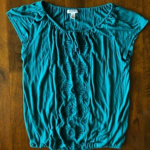 Old Navy Embroidered Blouse
